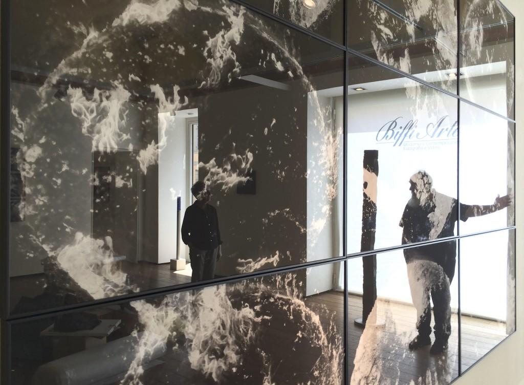 Blick in die Ausstellung Dialogo sull'amicizia in Piacenza