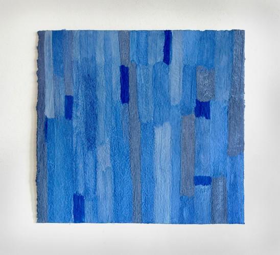 Lapislazuli ist ein Werk von Helmut Dirnaichner aus dem Jahr 2005 mit Lapislazuli und Zellulose.