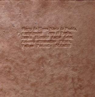 Künstlerbuch Terre