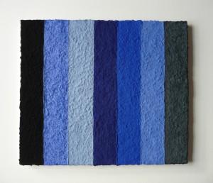 Lapislazuli Azurit ist ein Werk von Helmut Dirnaichner, zu sehen bei Galerie Renate Bender auf der Kunstmesse art Karlsruhe 2016