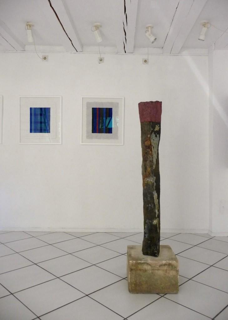 Helmut Dirnaichner zeigt in der Galerie Grewenig in Heidelberg Skulpturen und neue Wandarbeiten.