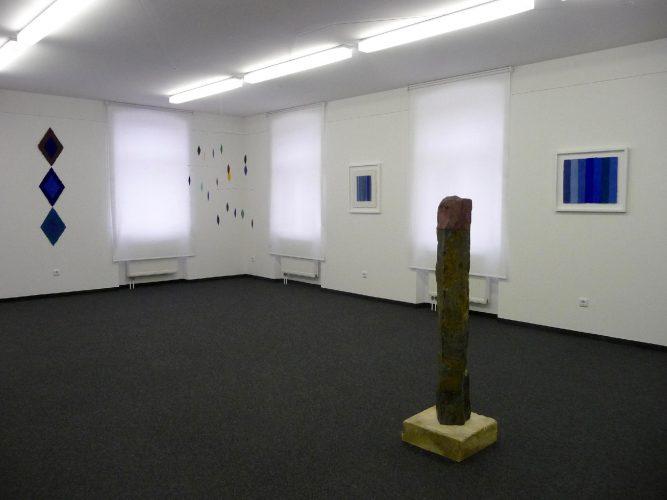 Helmut Dirnaicvhner zeigt im Kunsthaus Rehau Werke aus den Jahren 1996 bis heute.