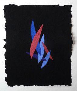 Nero d'avorio Cinabro ist ein Werk von Helmut Dirnaichner aus dem Jahr 2018.