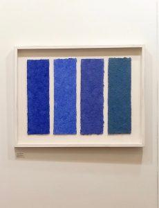 Azurit Lapislazuli ist ein Werk von Helmut Dirnaichner aus dem Jahr 2008, präsentiert von Galerie Horst Dietrich auf der paper Postions Berlin 2019.