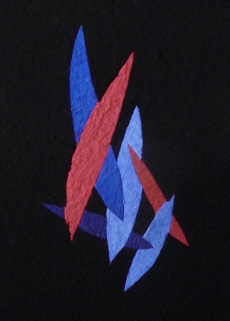 Lapislazuli Kobalt ist ein Werk von Helmut Dirnaichner aus dem Jahr 2018