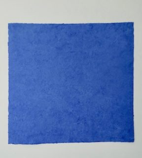 Sprung ins Blau